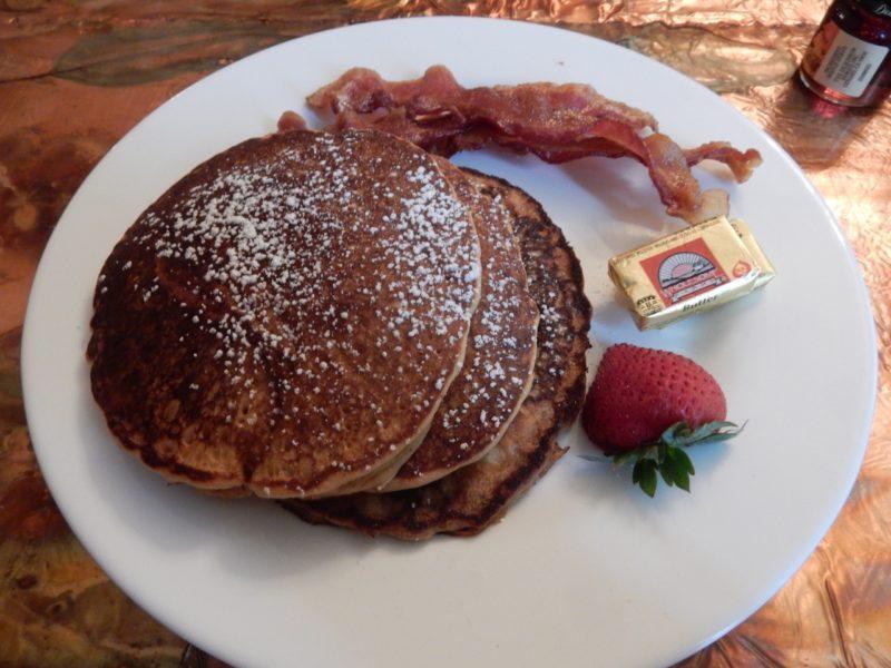 Sweet Potato Pancake Breakfast, Vandiver Inn, Havre de Grace MD