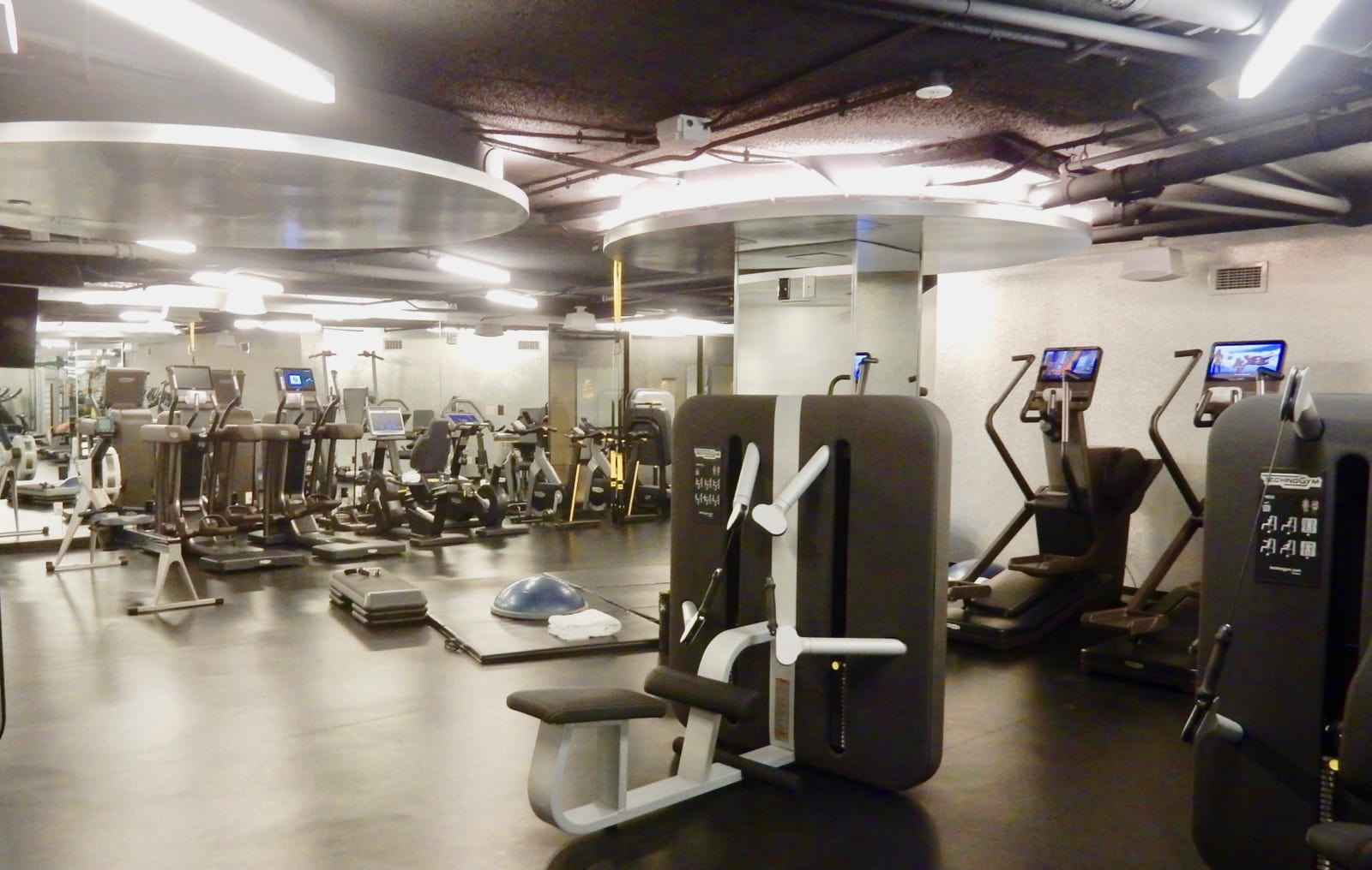 Fitness Room Watergate Hotel DC