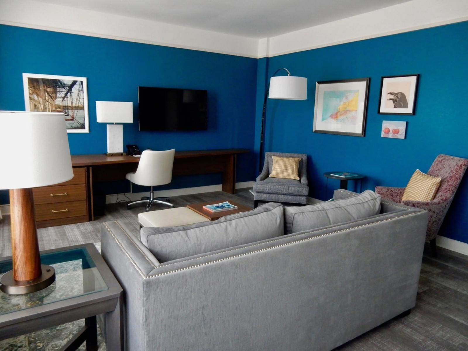 Suite Living Room The Commonwealth Hotel Richmond VA