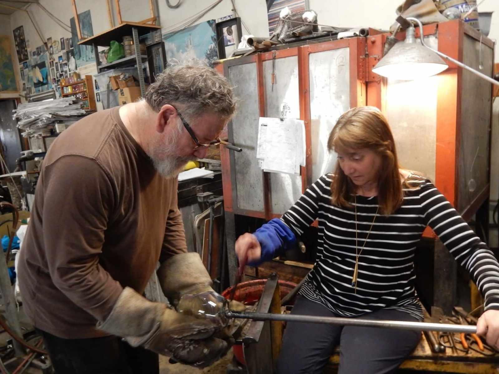 Hands On Glassblowing Glasslight Studio PA