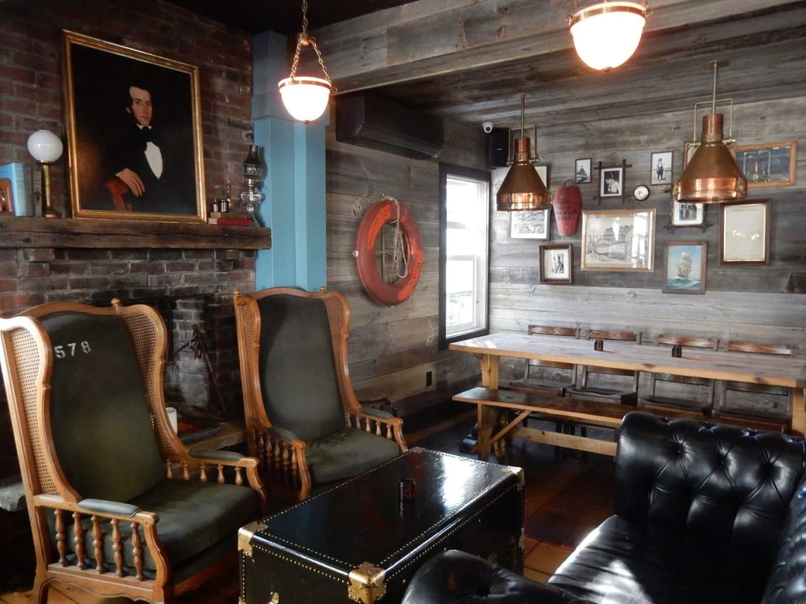 Interior, Stranger and Saints, Provincetown MA