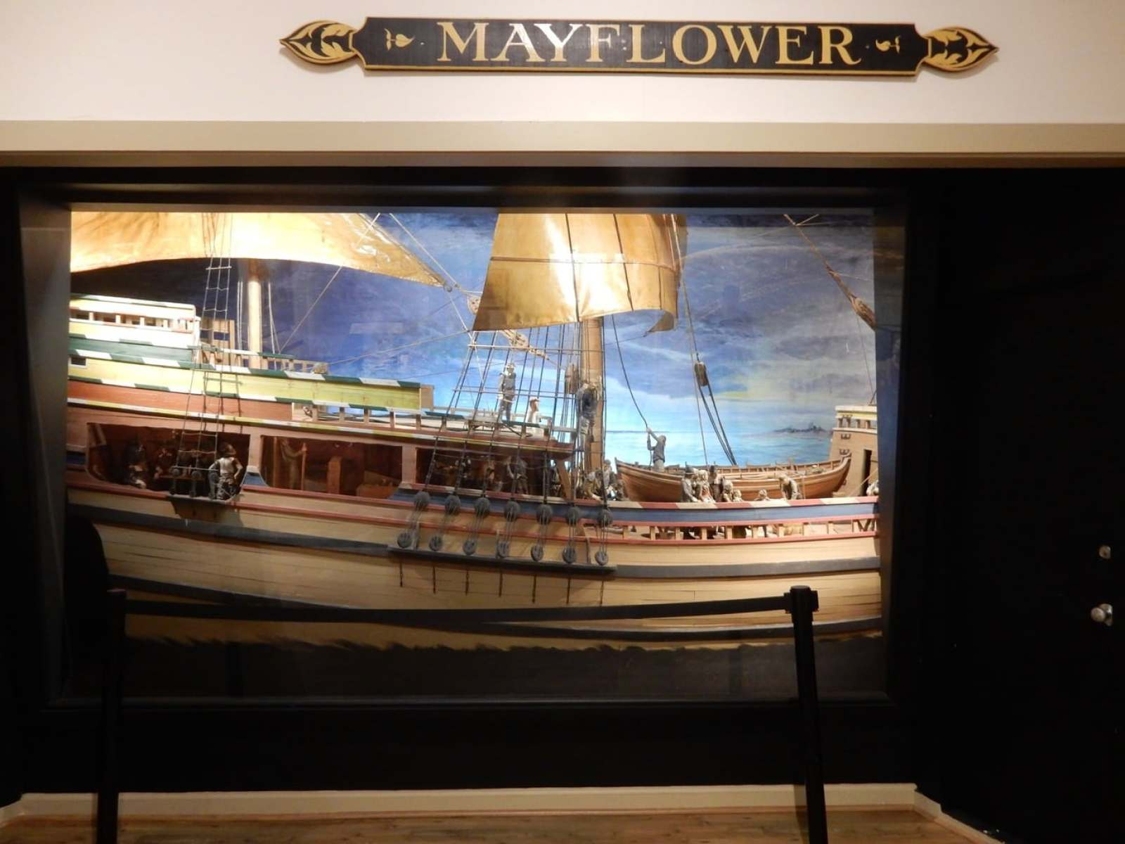 Mayflower Room, Provincetown Museum, MA