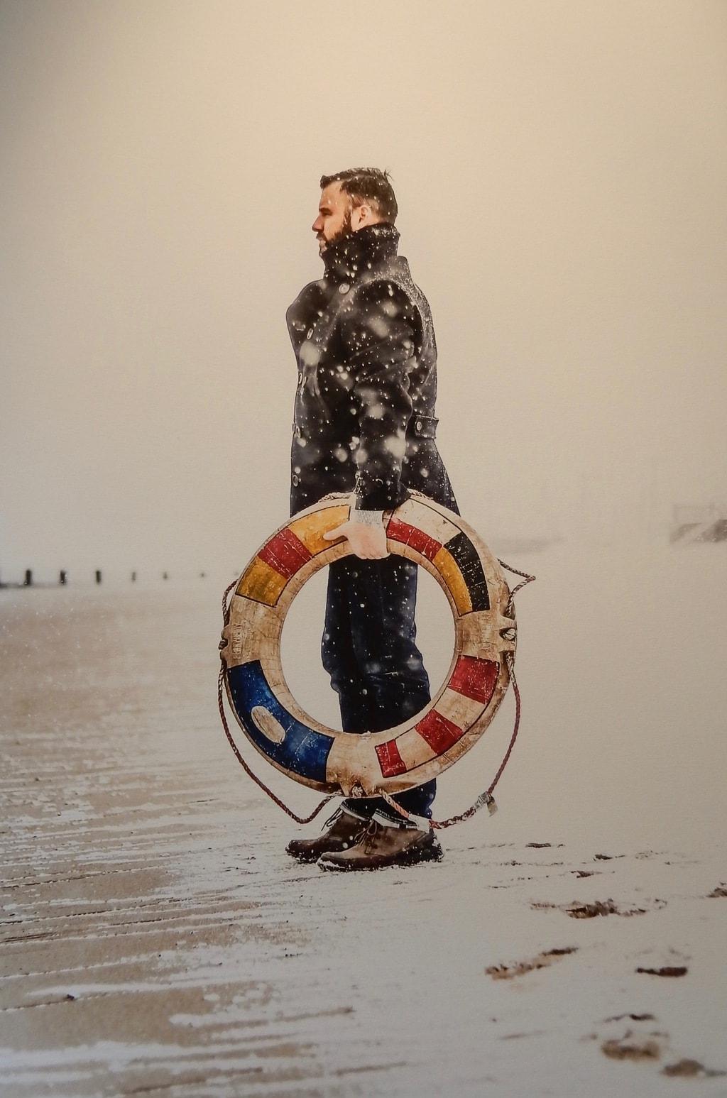 Curtis Speer Self Portrait, CUSP Gallery, Provincetown MA