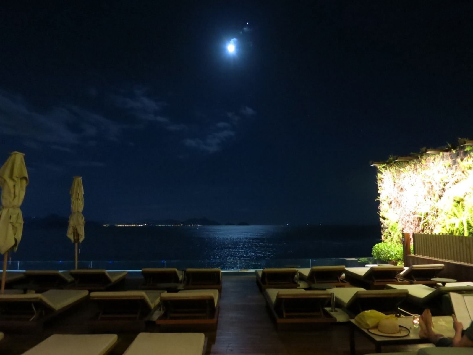 Moonlit Night Hotel Emaliano Rio Brazil