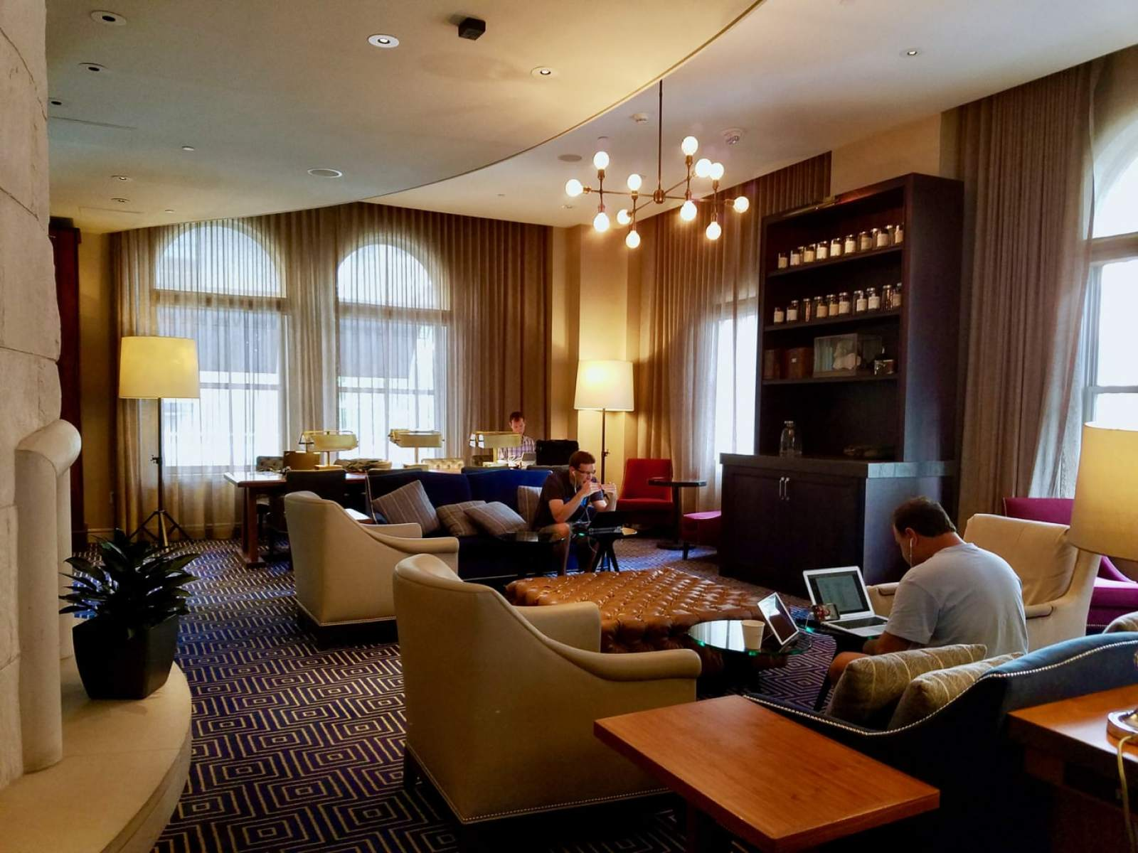 Common Guest Room, Loews Boston Hotel
