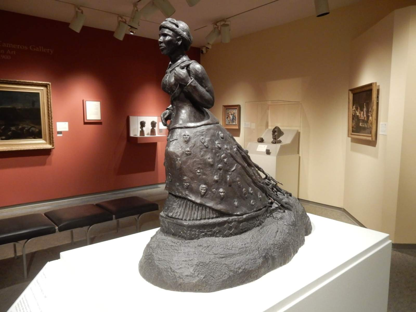 Harriet Tubman Sculpture Memorial Art Gallery Rochester NY