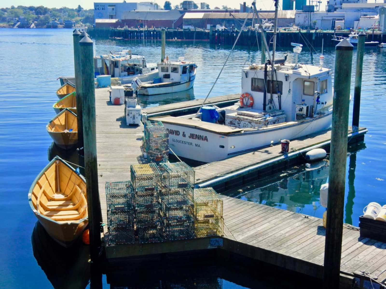 Working docks Gloucester MA