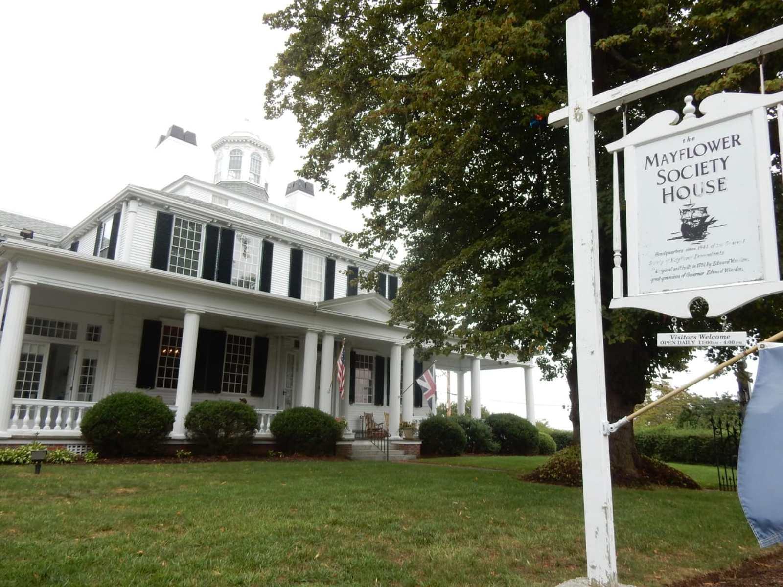 Mayflower Society Headquarters Plymouth MA