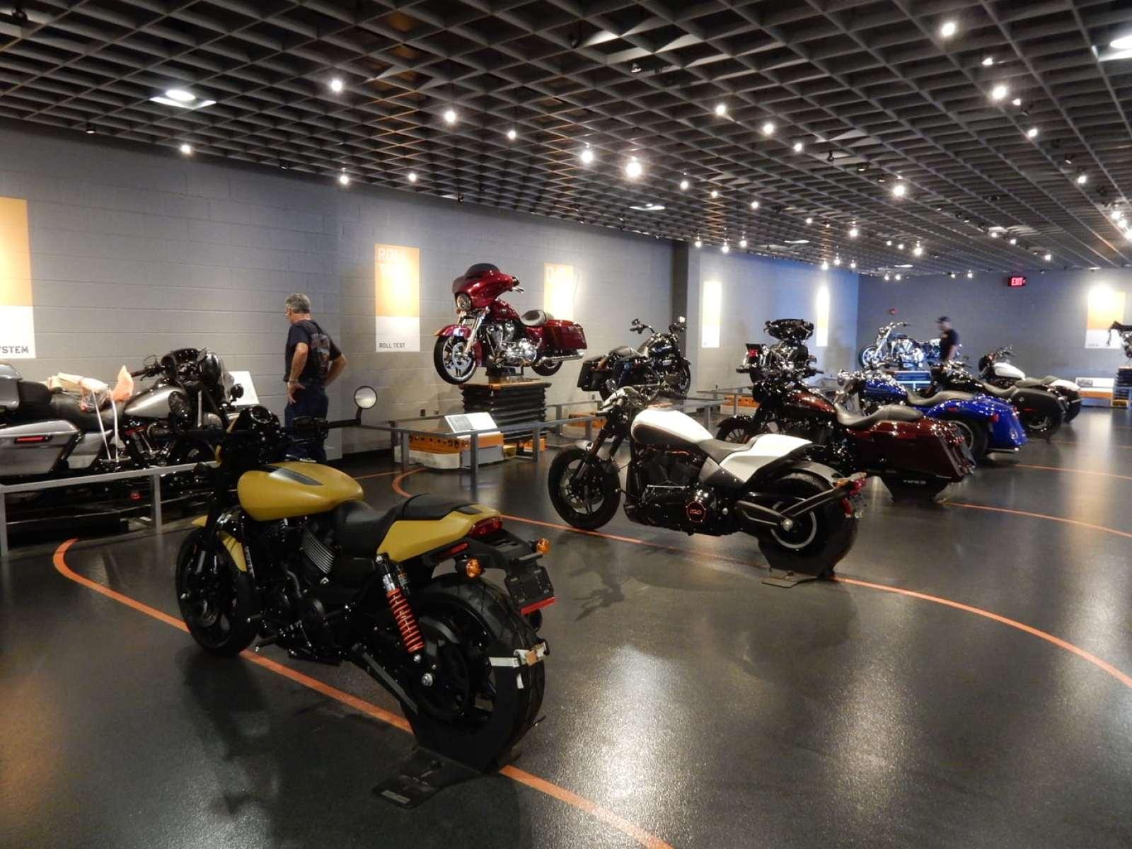 New Bikes Harley-Davidson Plant York PA