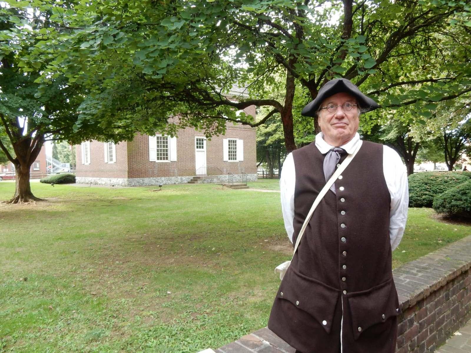 Costumed Interpreter Colonial Complex York PA