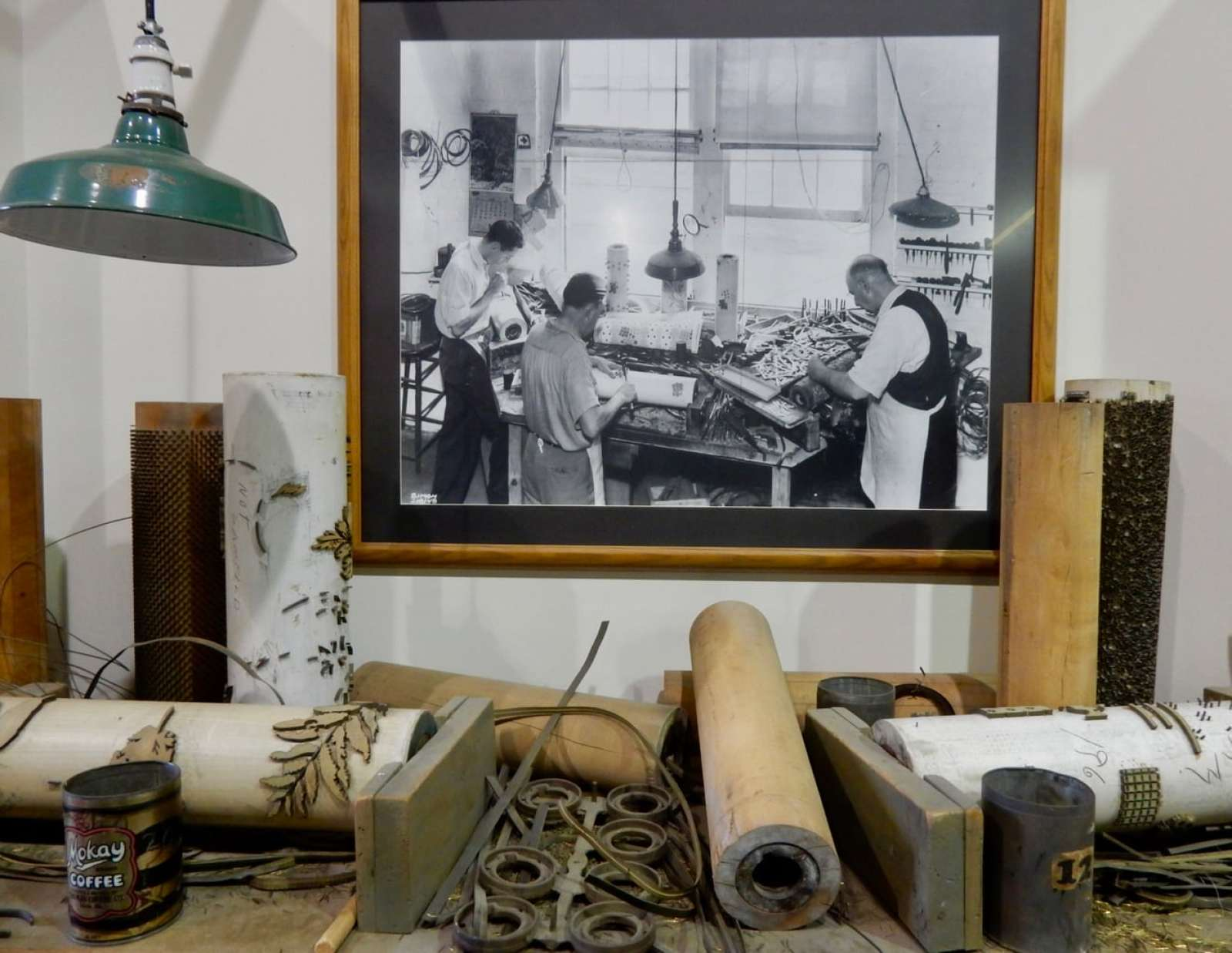 Wallpaper artisans - Agriculture And Industrial Museum York PA