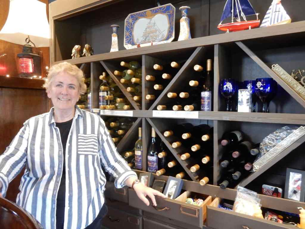 Gail Miller White Caps Winery Chaumont NY