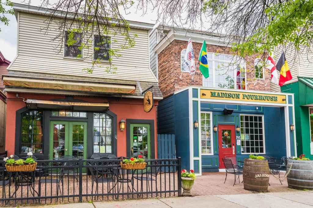 Madison Cafe in Albany NY.