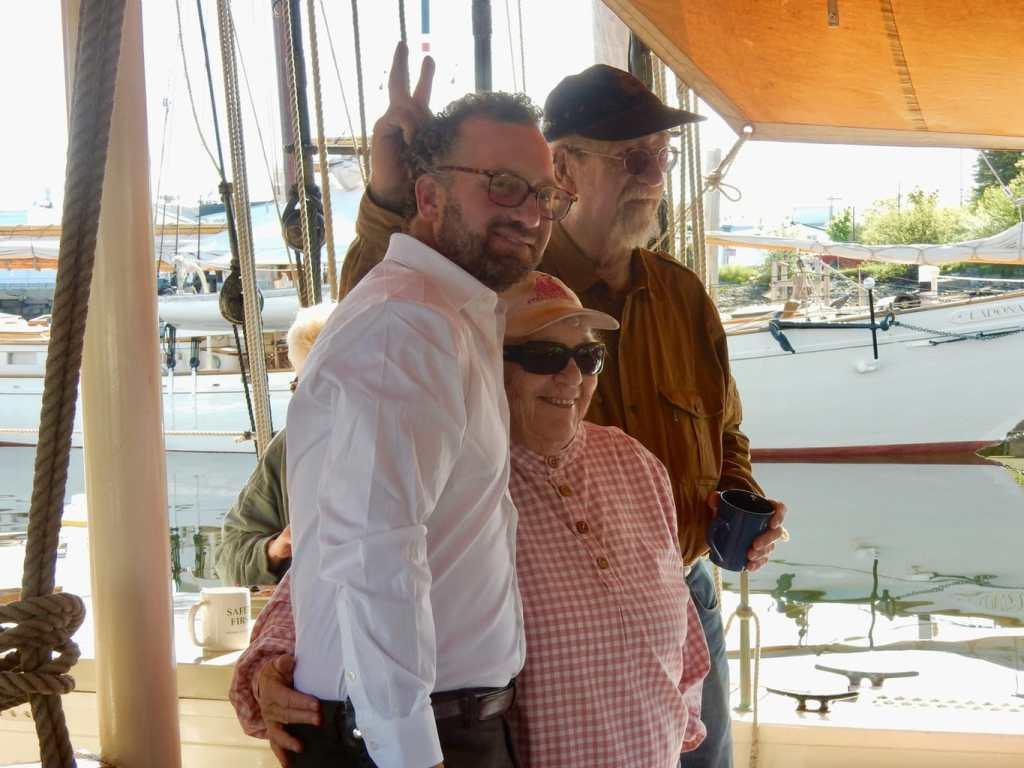 Captains Ken Ellen and Noah Barnes