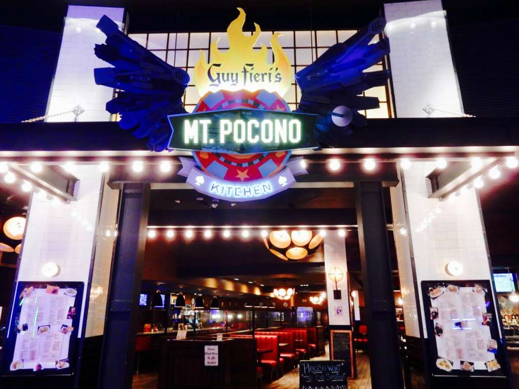 Entrance to Guy Fieris Mt Pocono Kitchen PA