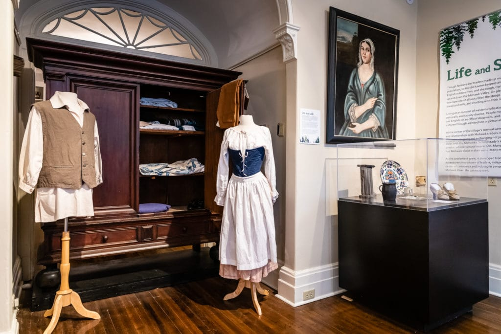 Exhibit at the Schenectady County Historical Society