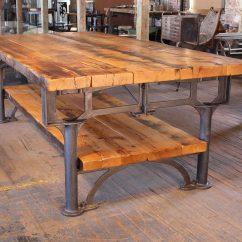 Industrial Kitchen Table Cleaner Harvest Island Vintage By Get Back Inc