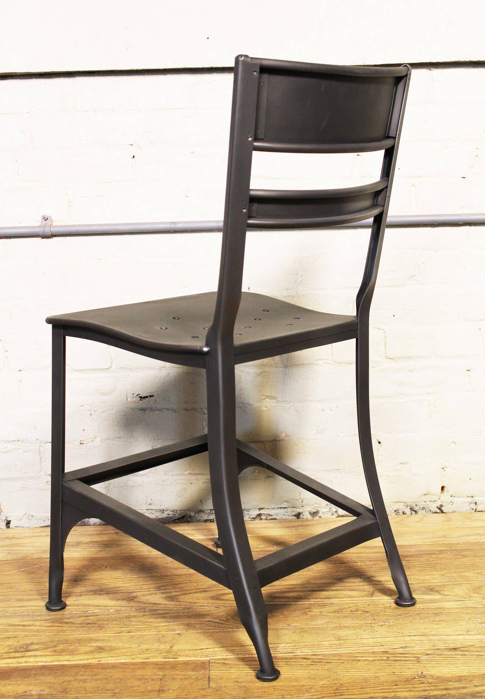 industrial dining chair adela sex gunmetal toledo get back inc