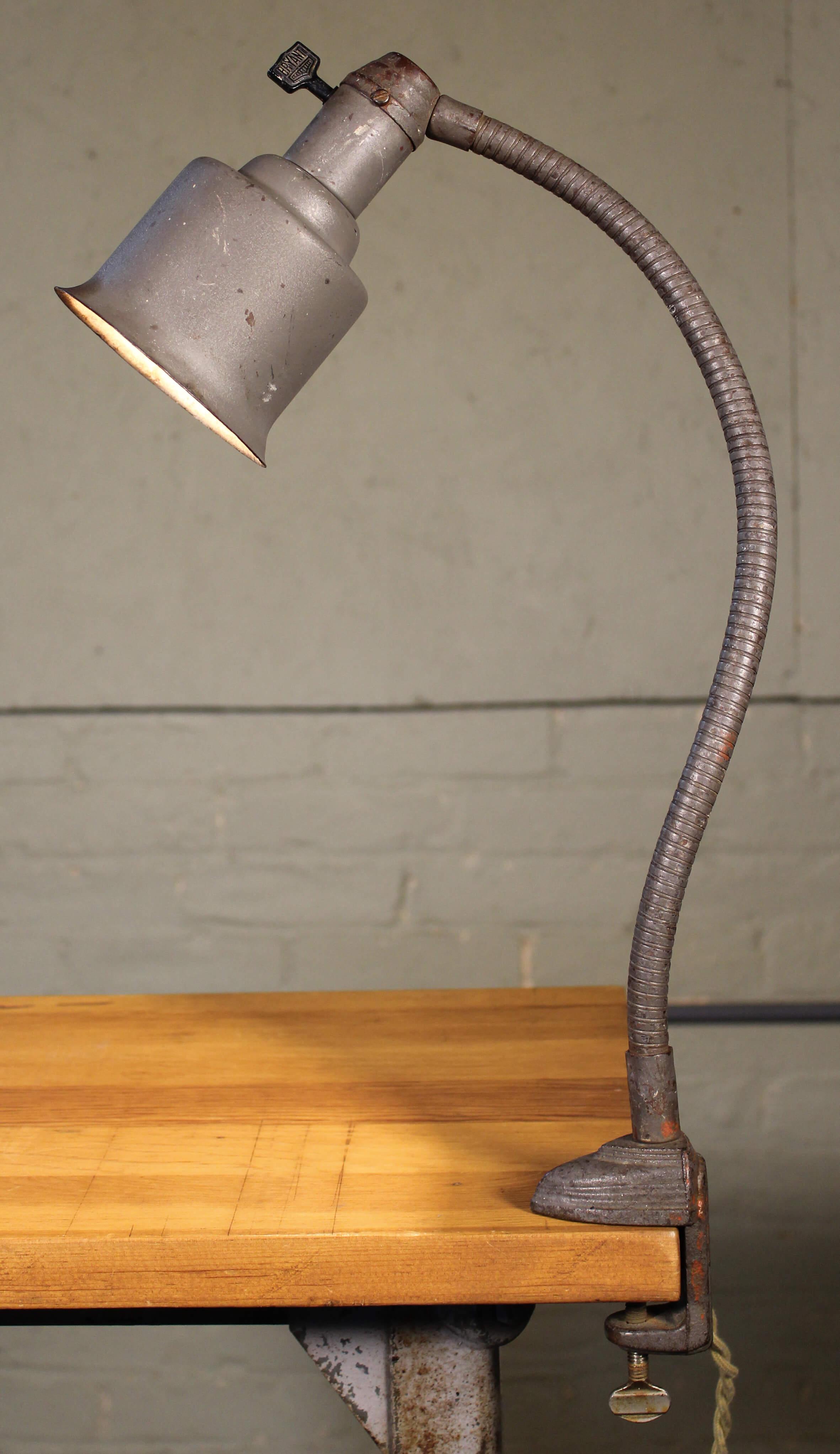 Art Deco Desk Lamp  Vintage Industrial by Get Back Inc