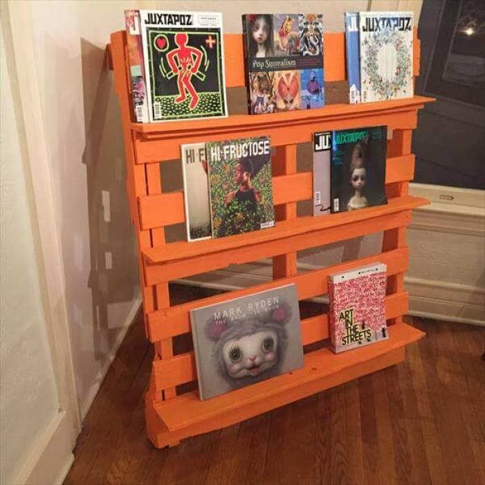 Epic diy wood pallet projects #diybookshelfpallet #bookshelves #storageideas