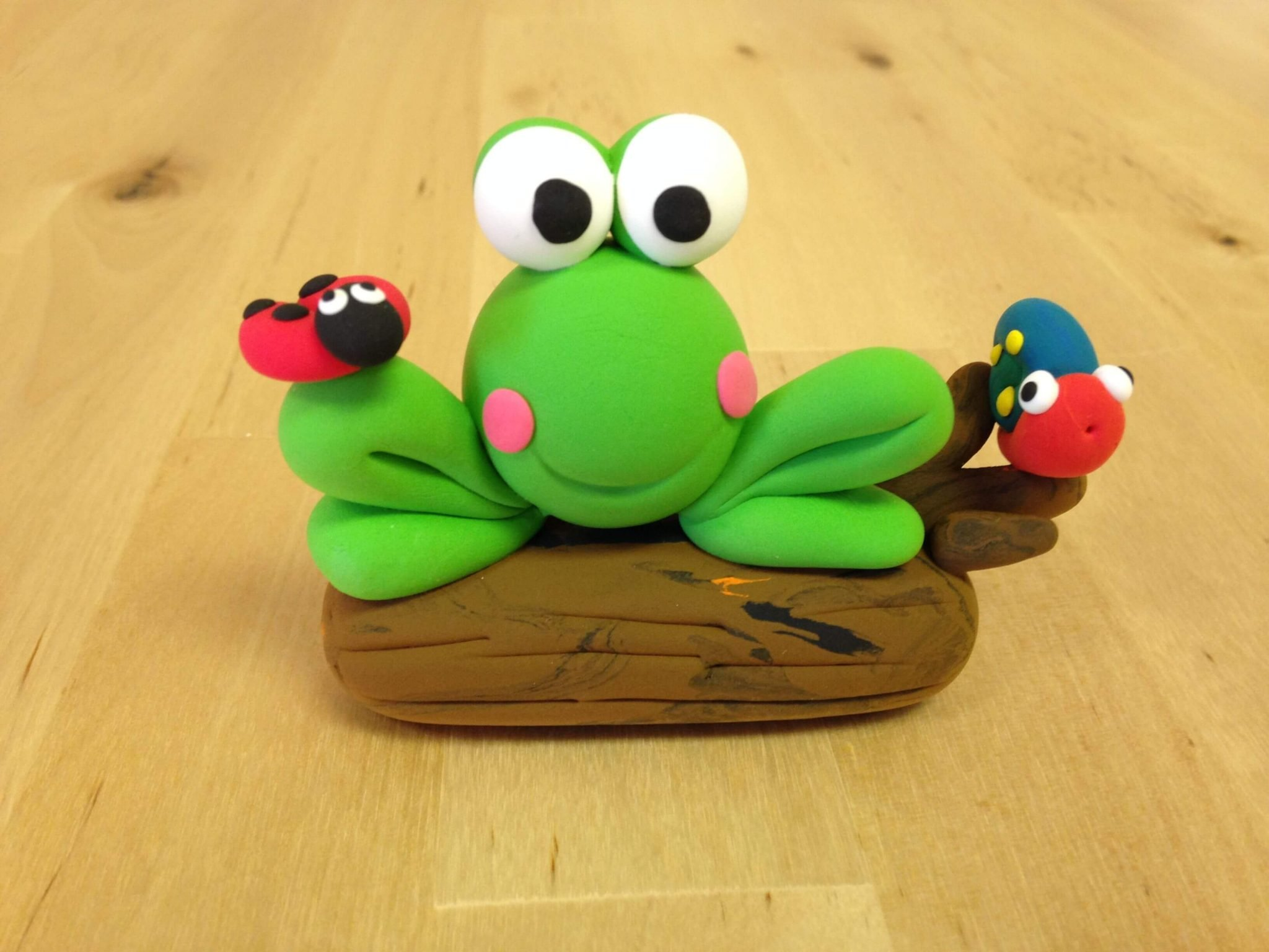 Easy clay tree frog