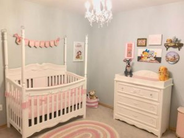 Astounding baby girl nursery ideas grey and pink #babygirlroomideas #babygirlnurseryideas #babygirlroom