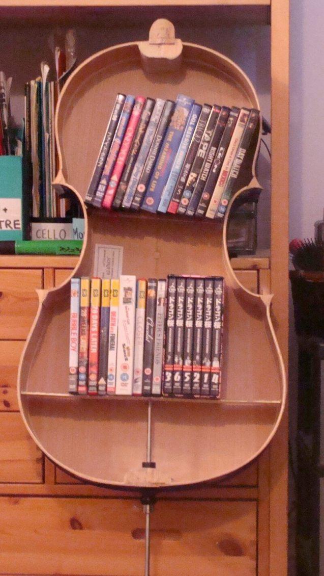 Epic dvd holder #dvdstorageideas #cddvdstorage #dvdrack