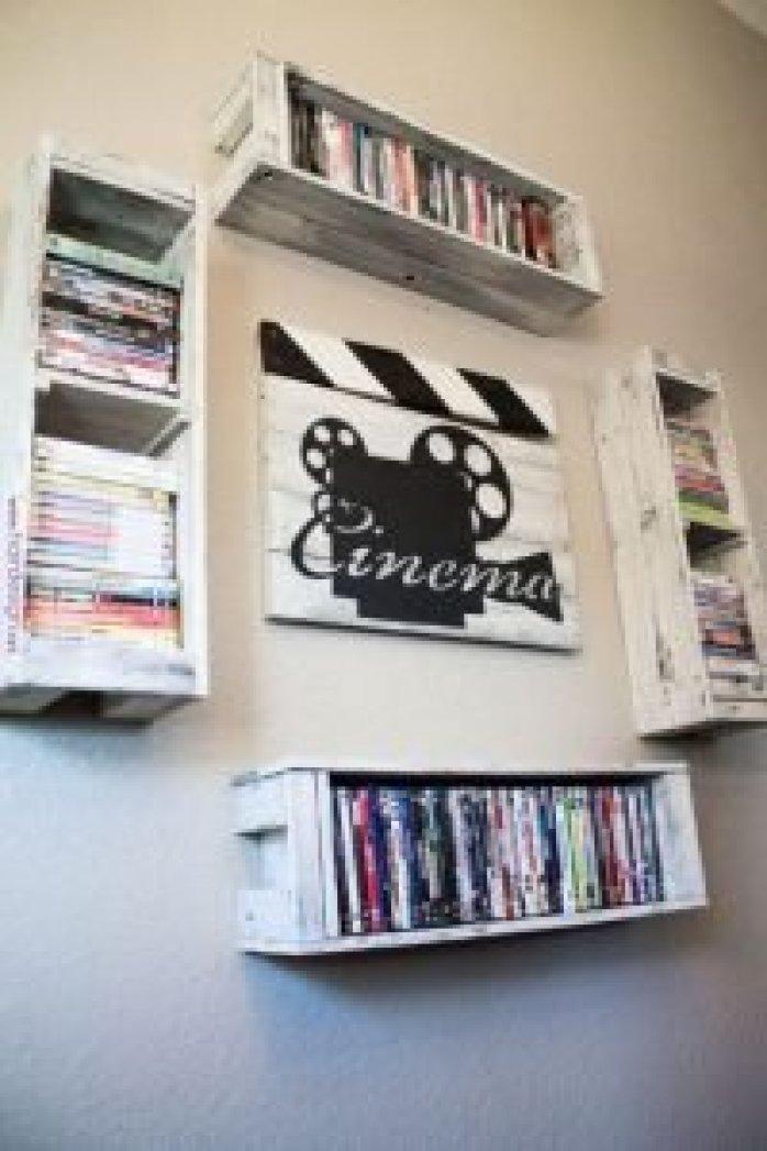 Glorious dvd rack #dvdstorageideas #cddvdstorage #dvdrack