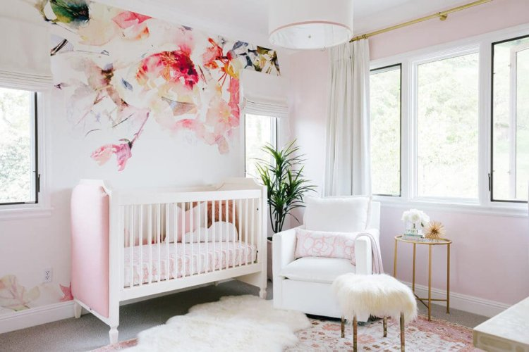 Fabulous baby girl room ideas pink and white #babygirlroomideas #babygirlnurseryideas #babygirlroom