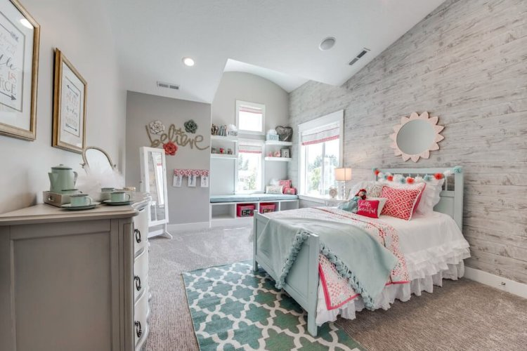 Brilliant kids bedroom decor #kidsbedroomideas #kidsroomideas #littlegirlsbedroom