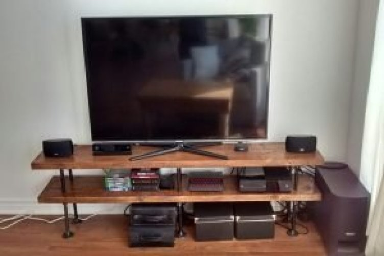 Unleash diy tv stand cheap #DIYTVStand #TVStandIdeas #WoodenTVStand