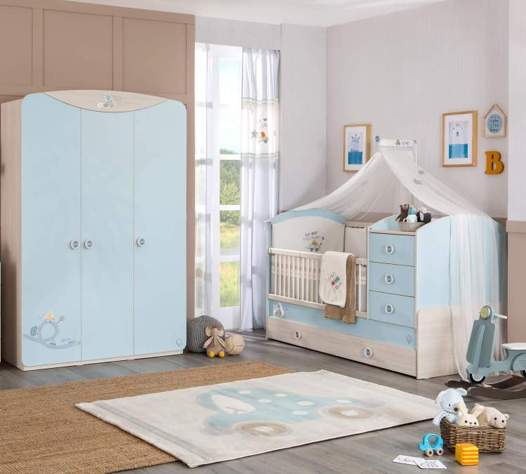 Awesome baby boy and toddler girl shared room ideas #babyboyroomideas #boynurseryideas #cutebabyroom