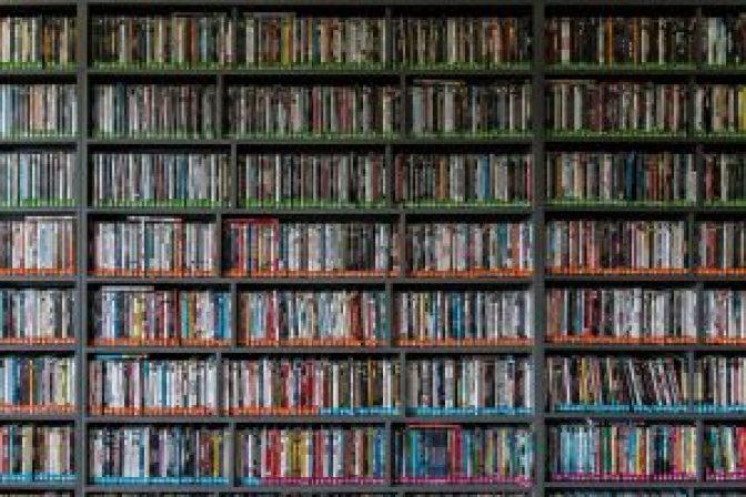 Delight dvd and book storage ideas #dvdstorageideas #cddvdstorage #dvdrack