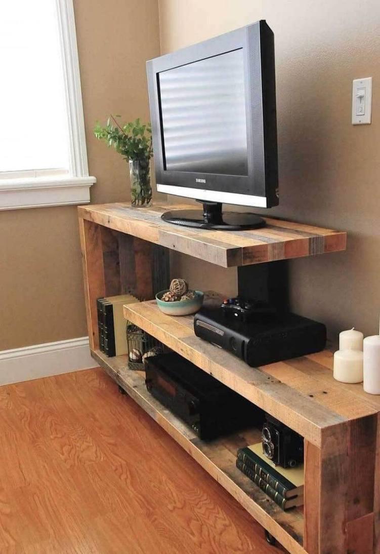 Marvelous simple diy tv stand #DIYTVStand #TVStandIdeas #WoodenTVStand