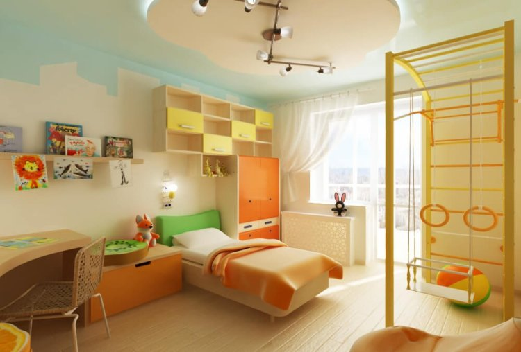 Uplifting kids bedroom curtains #kidsbedroomideas #kidsroomideas #littlegirlsbedroom