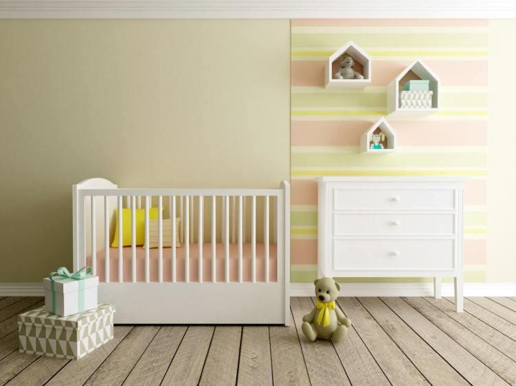 Excited baby boy nursery ideas with dark furniture #babygirlroomideas #babygirlnurseryideas #babygirlroom