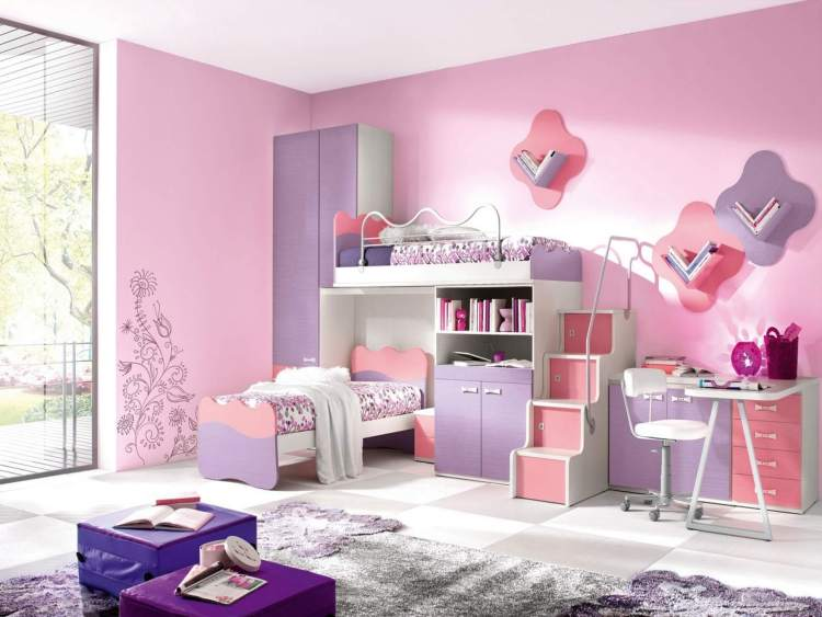Glorious girls room paint ideas #kidsbedroomideas #kidsroomideas #littlegirlsbedroom