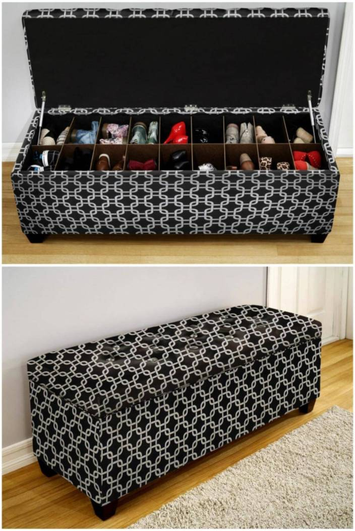 Miraculous unusual shoe storage ideas #shoestorageideas #shoerack #shoeorganizer