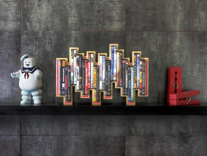 Astounding wooden dvd storage ideas #dvdstorageideas #cddvdstorage #dvdrack
