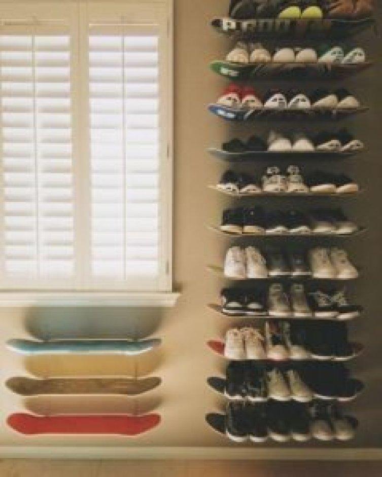 Life-changing wooden shoe rack #shoestorageideas #shoerack #shoeorganizer