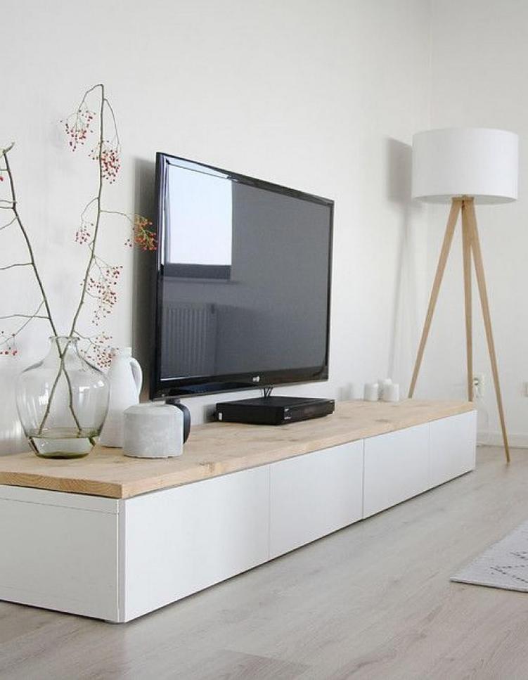 Eye-opening diy tripod tv stand #DIYTVStand #TVStandIdeas #WoodenTVStand