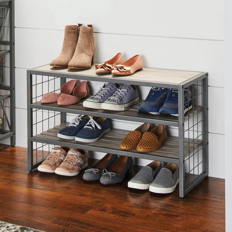 Excited closet storage ideas #shoestorageideas #shoerack #shoeorganizer