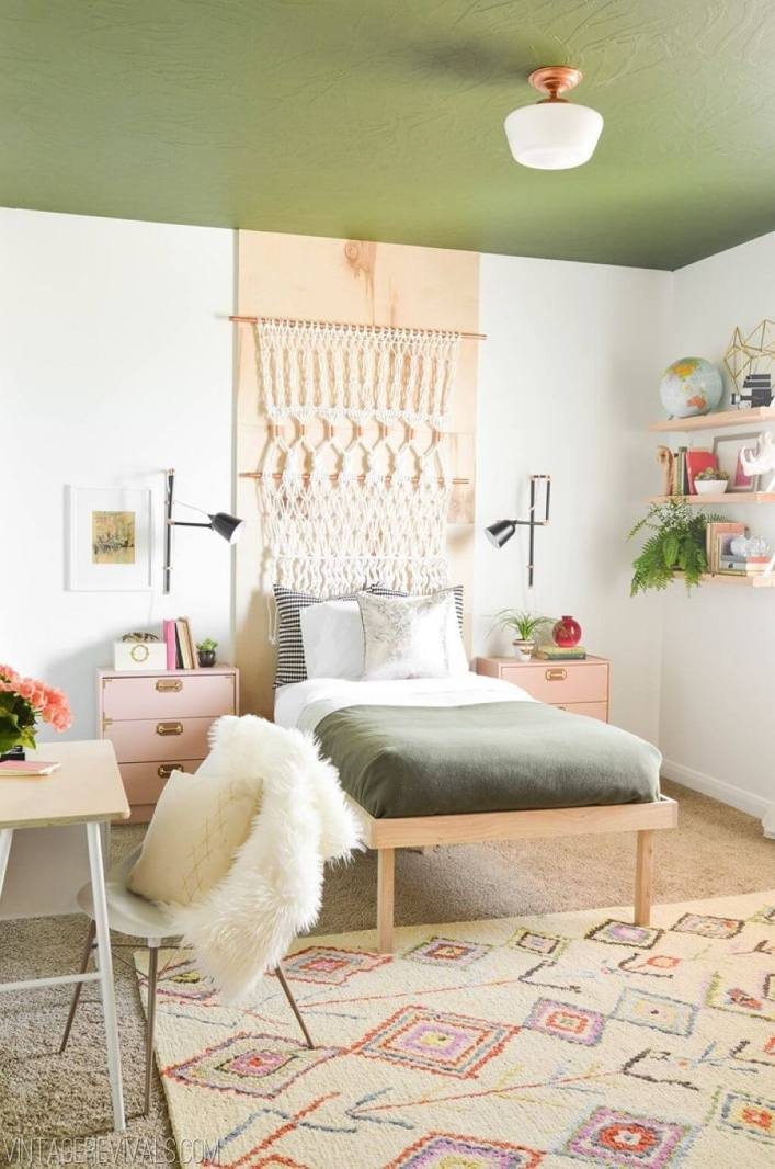 Fabulous teenage girl bedroom ideas rose gold #teenagegirlbedroomideas #teengirlsroom #girlsbedroomideas