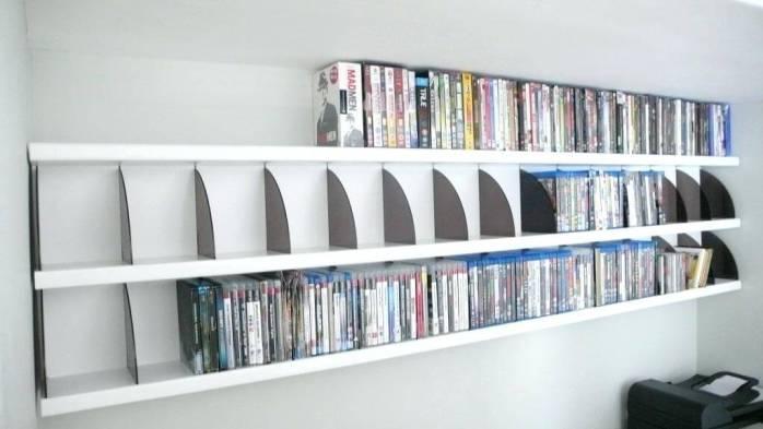 Striking entertainment center ideas #dvdstorageideas #cddvdstorage #dvdrack