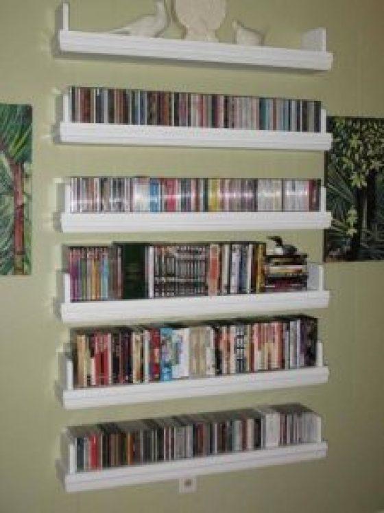 Spectacular dvd movie storage ideas #dvdstorageideas #cddvdstorage #dvdrack