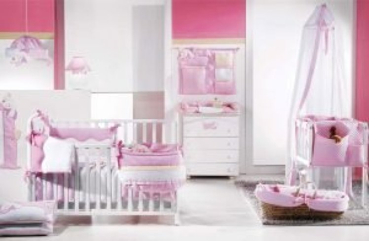 Remarkable baby girl nursery ideas with brown furniture #babygirlroomideas #babygirlnurseryideas #babygirlroom