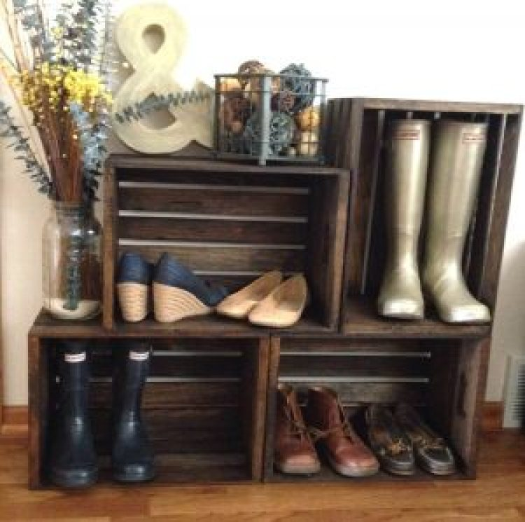 Breathtaking entryway shoe storage #shoestorageideas #shoerack #shoeorganizer