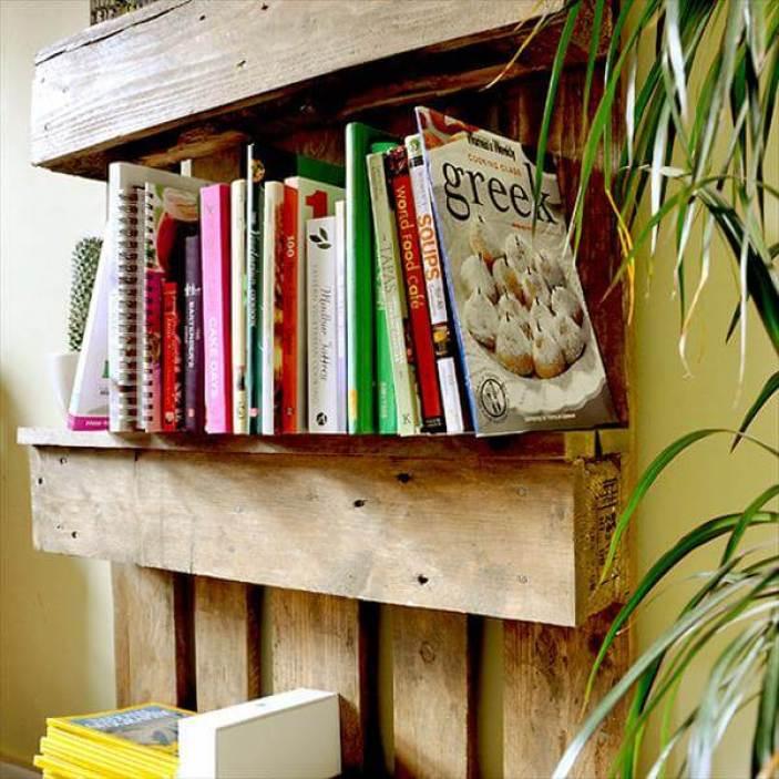Palletfurnitureplans Remarkable Stuff Made Out Of Pallets Diybookshelfpallet Bookshelves Storageideas