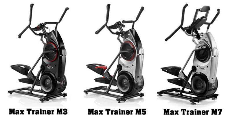 Bowflex Max Trainer M7 vs. M5 vs. M3 Comparison 2019