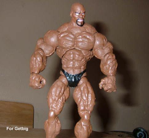 Ronnie Coleman Bodybuilding Action Figure